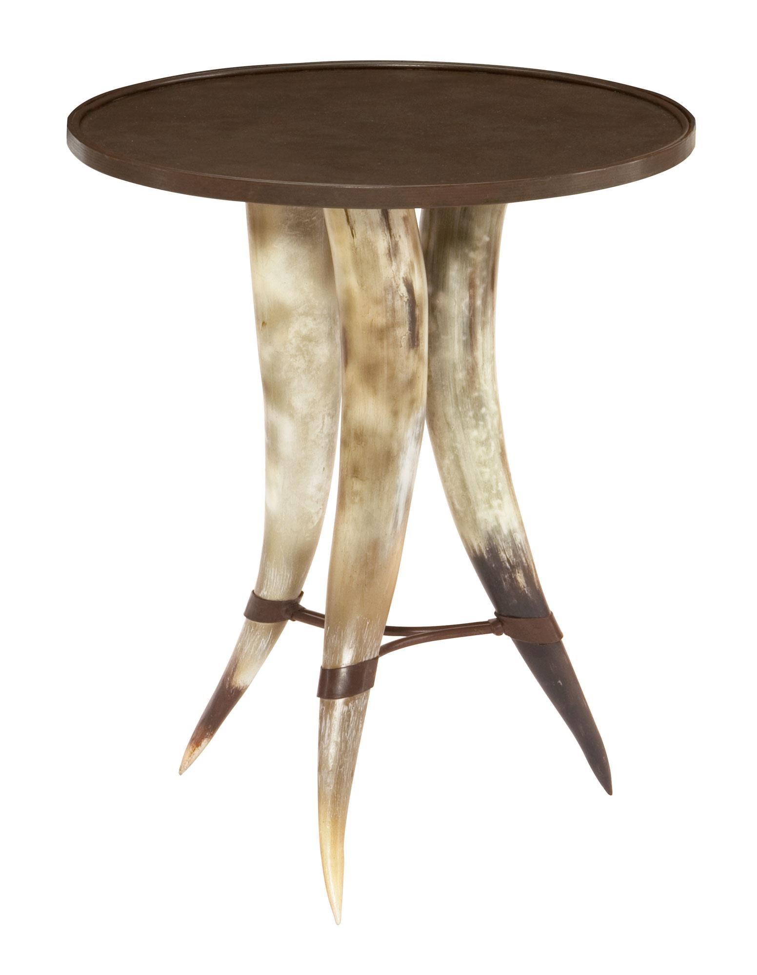 Texas Horn Texas Horn Table by Bernhardt at Morris Home