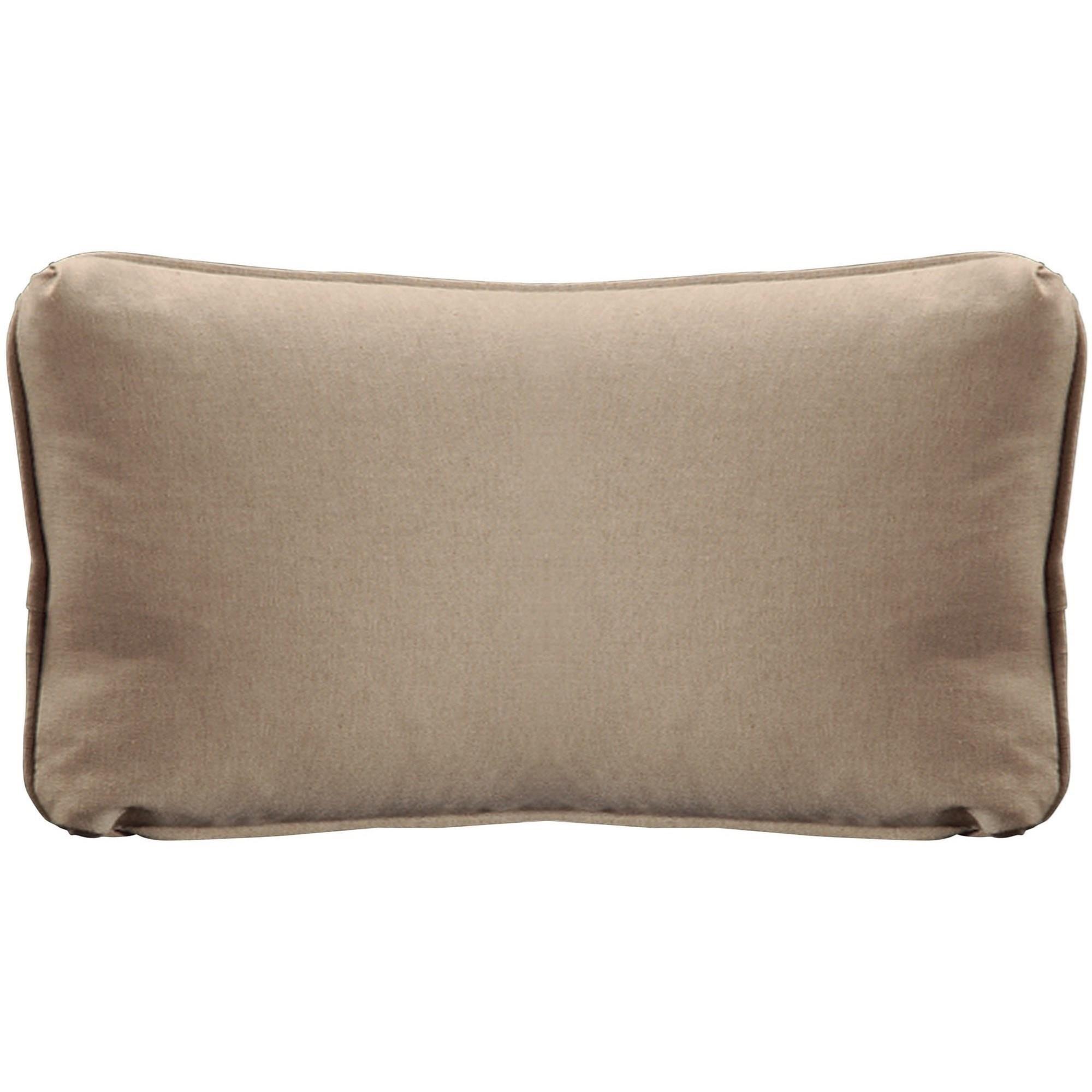 "Throw Pillows Knife Edge Kidney w/welt (12"" x 22"") at Williams & Kay"