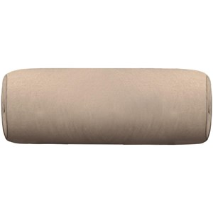 """Round Bolster with button and welt (8"""" x 20"""""""