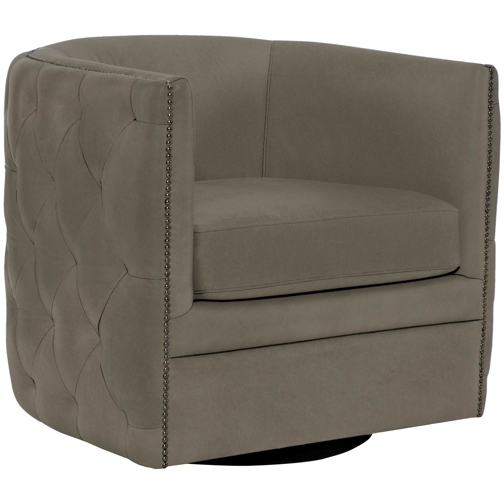 Upholstered Accents Palazzo Swivel Chair by Bernhardt at Baer's Furniture