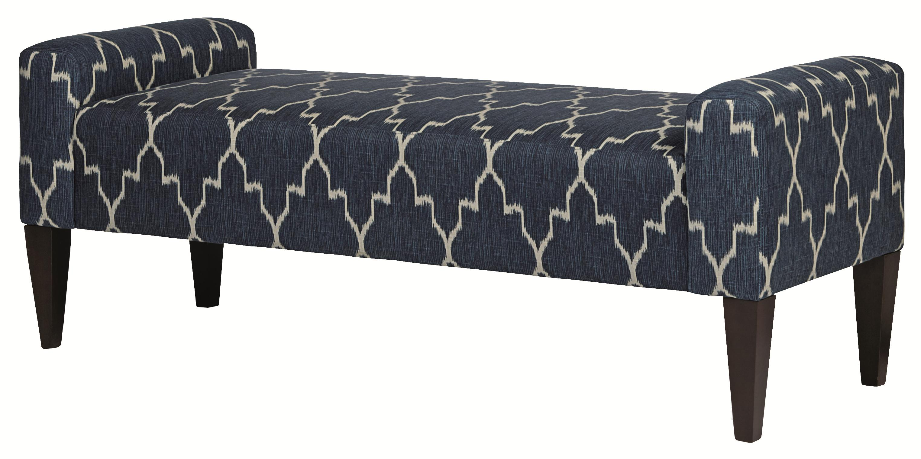 Upholstered Accents Sudbury Bench by Bernhardt at Baer's Furniture