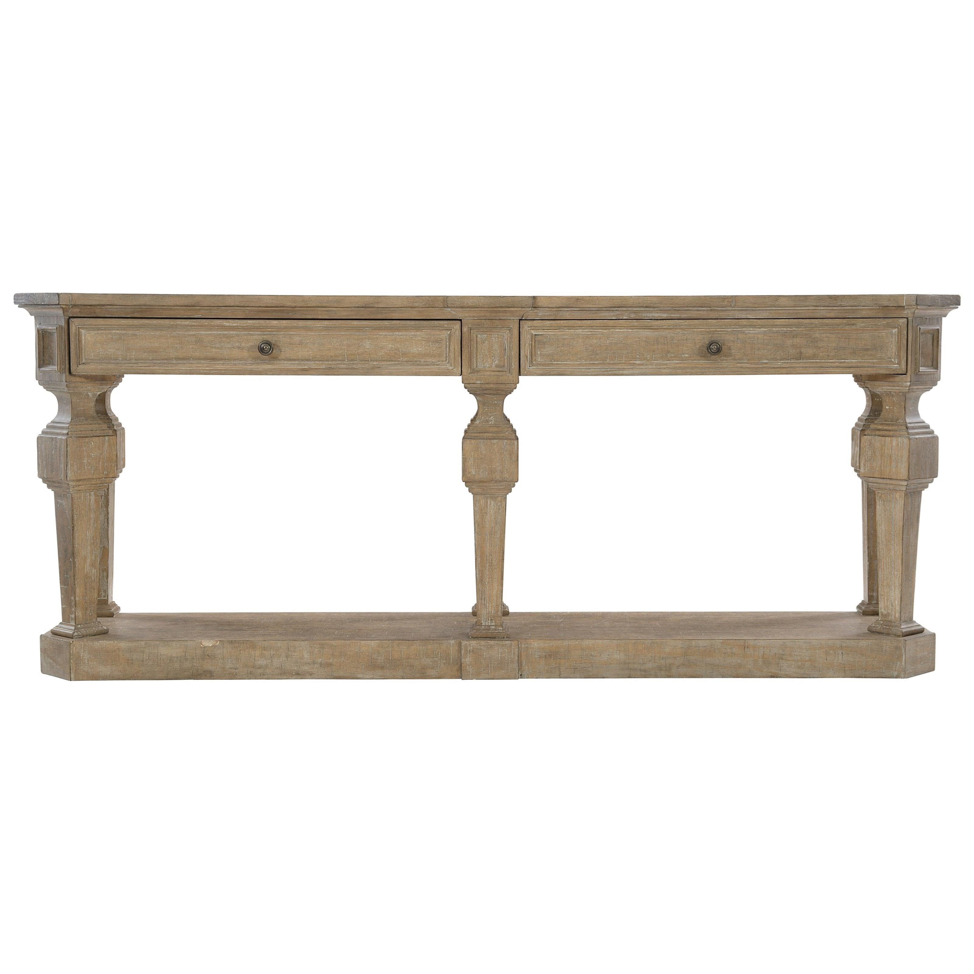 Villa Toscana Console Table by Bernhardt at Jacksonville Furniture Mart
