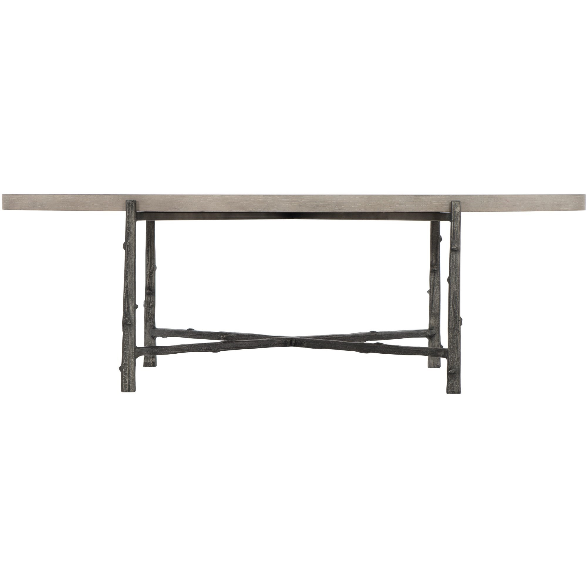 Warford Oval Cocktail Table by Bernhardt at Darvin Furniture