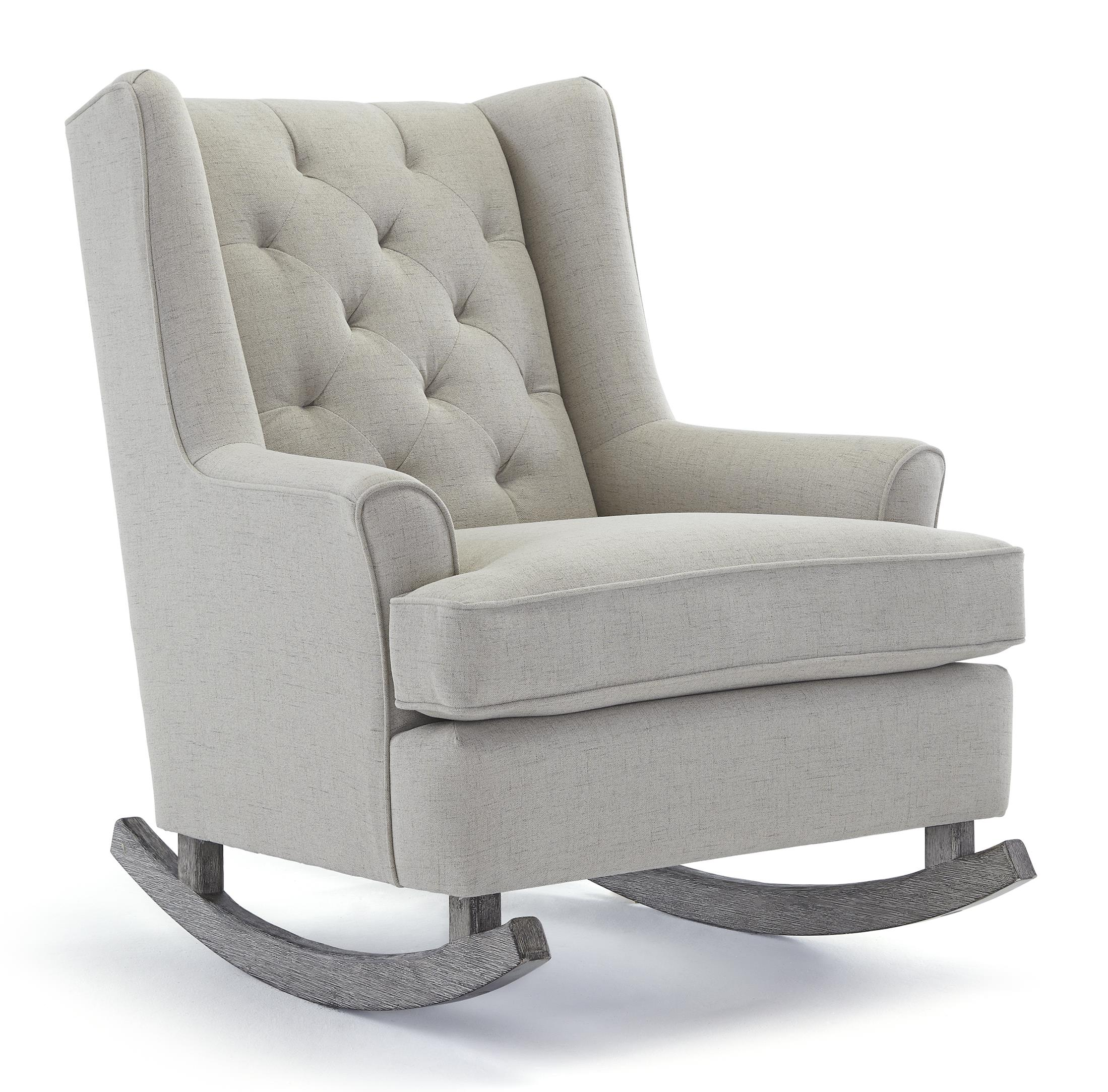 Storytime Swivel Chairs and Ottomans Paisley Rocking Chair by Best Chairs Storytime Series at Best Home Furnishings
