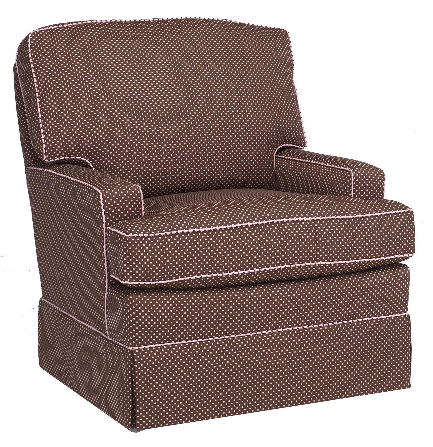 Storytime Swivel Chairs and Ottomans Rena Chair by Best Chairs Storytime Series at Best Home Furnishings