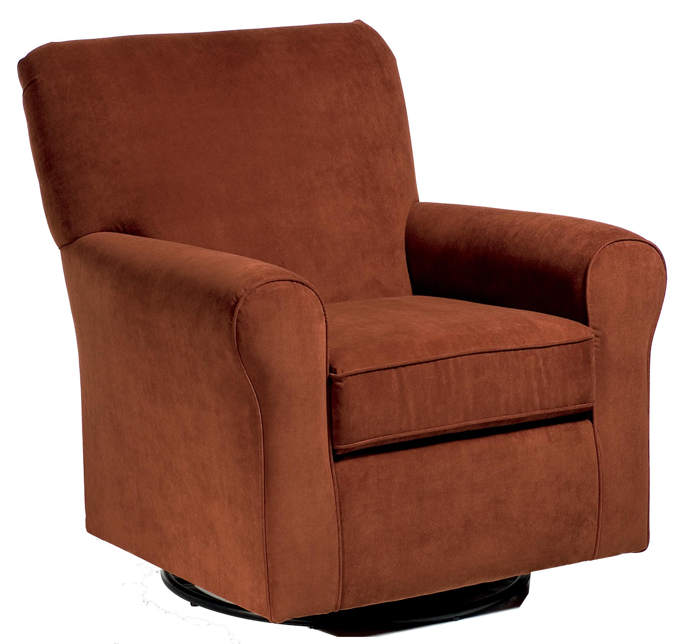 Storytime Swivel Chairs and Ottomans Hagen Chair by Best Chairs Storytime Series at Best Home Furnishings