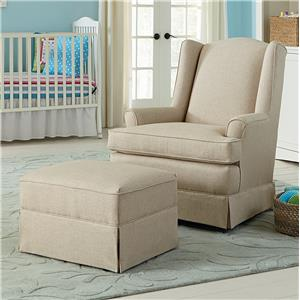 Best Chairs Storytime Series Storytime Swivel Chairs and Ottomans Natasha Swivel Glider and Gliding Ottoman