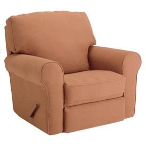 Irvington Swivel Glider Recliner with Large Rolled Arms