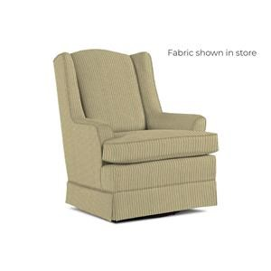 Swivel Glider and Glide Ottoman