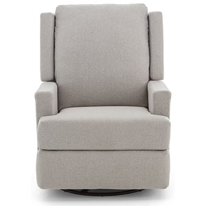 Contemporary Power Swivel Glider with Hidden Release