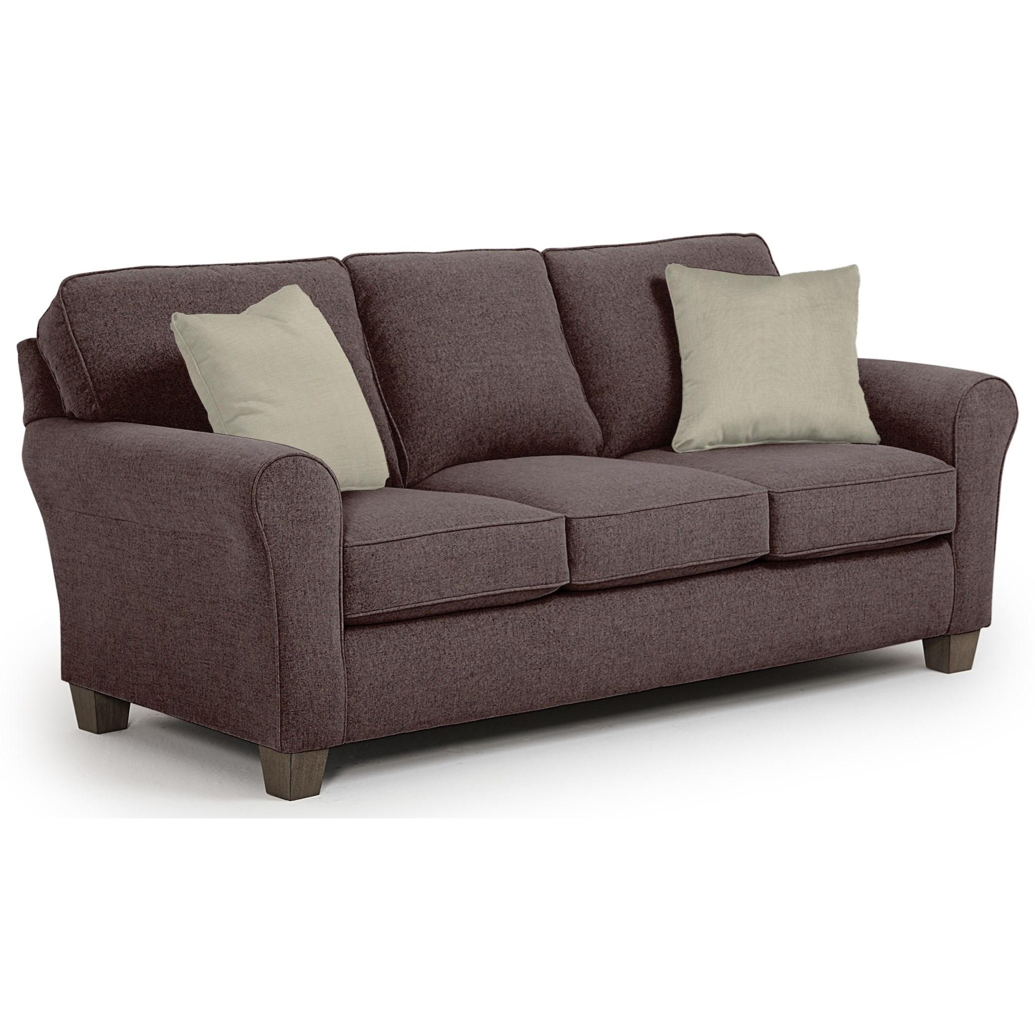 Annabel  Custom 3 Over 3 Sofa by Best Home Furnishings at Baer's Furniture