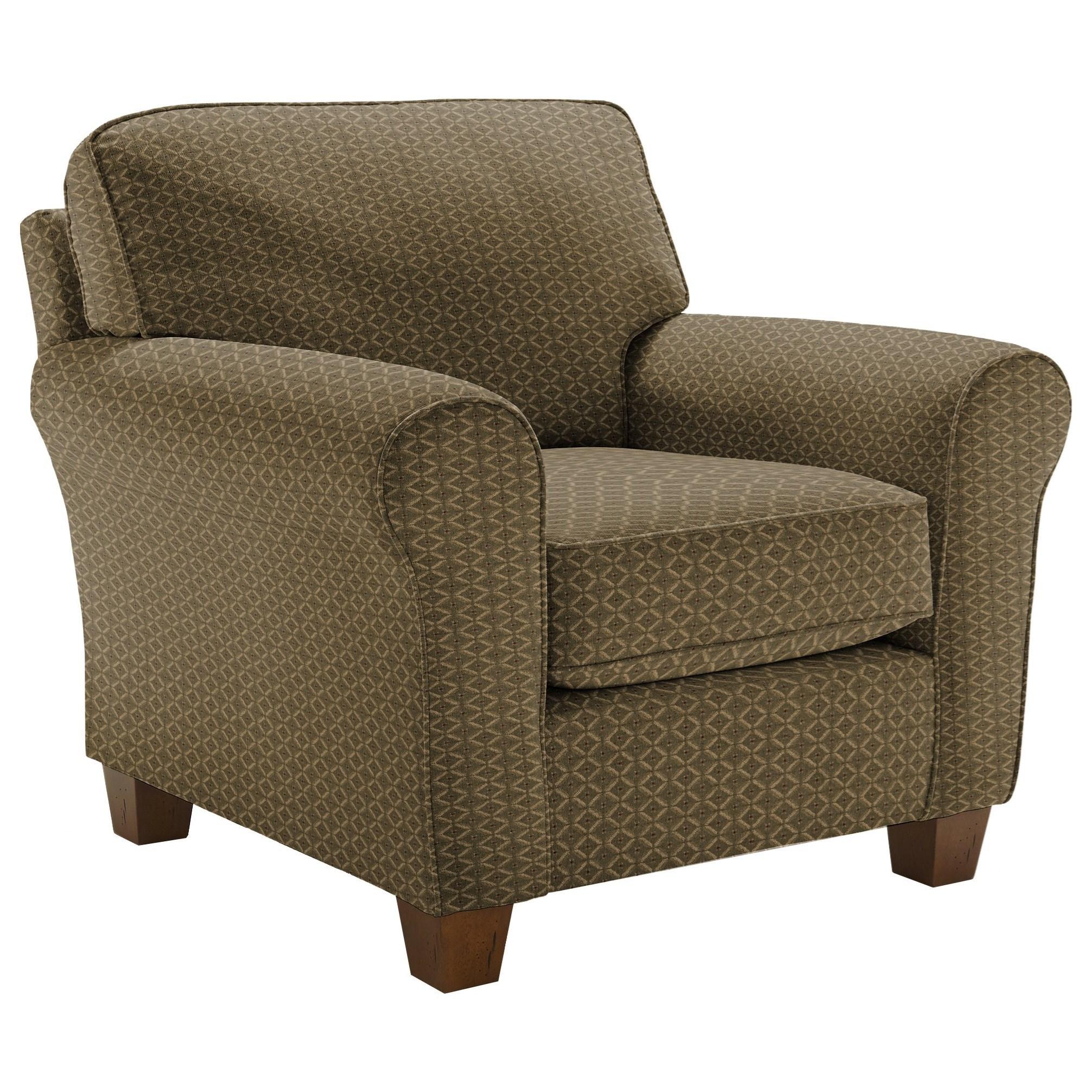 Annabel  <b>Custom</b> Chair by Best Home Furnishings at Lapeer Furniture & Mattress Center