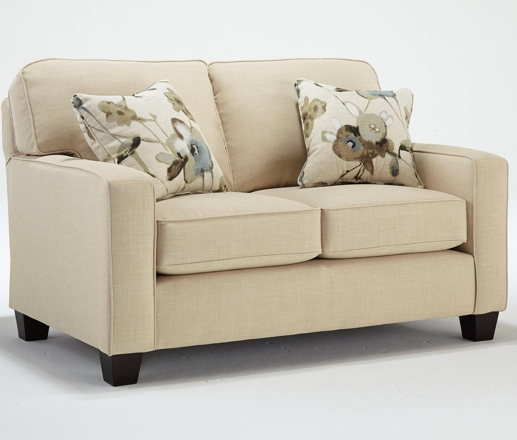 Annabel  Customizable Loveseat by Best Home Furnishings at Rooms and Rest