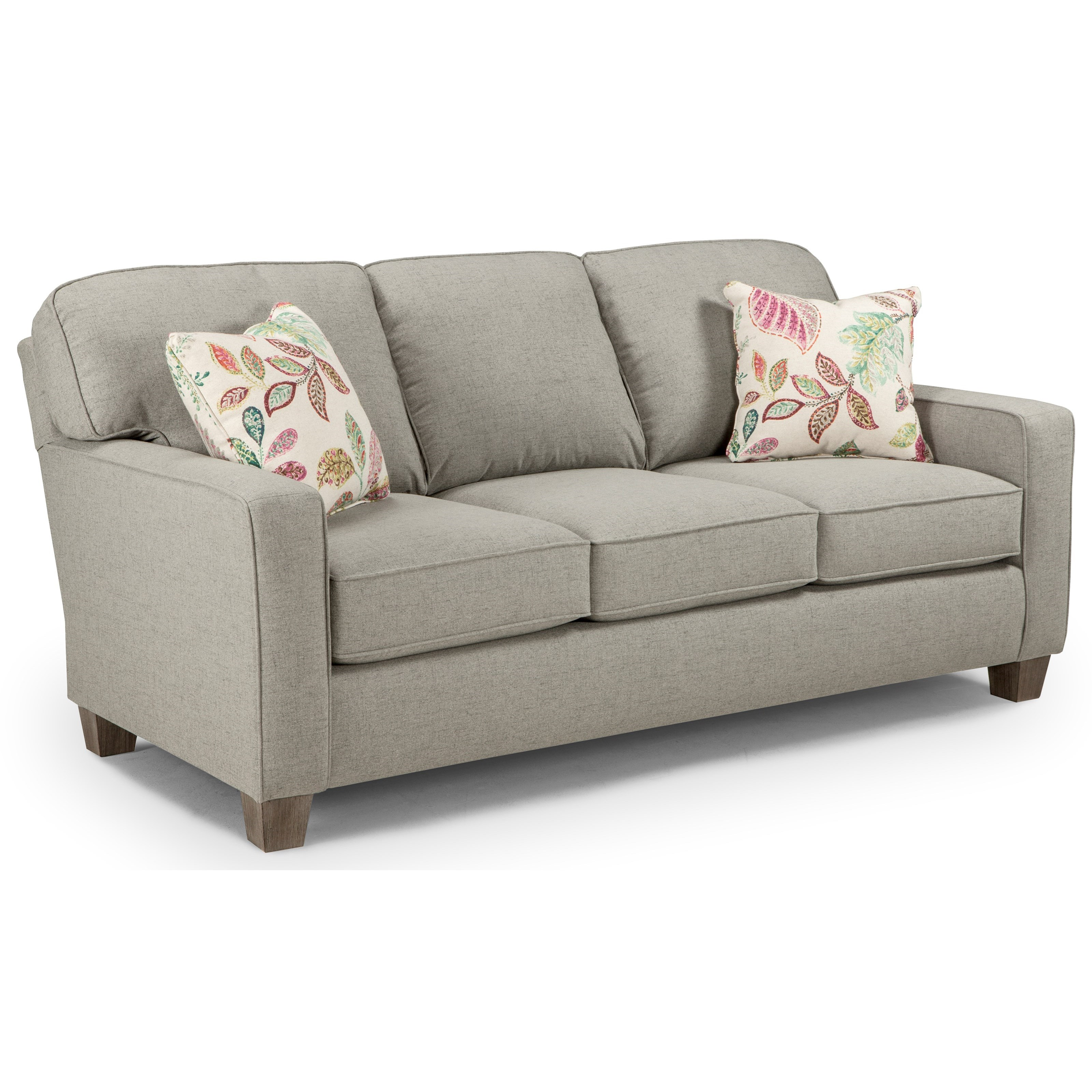 Annabel  Custom 3 Over 3 Sofa by Best Home Furnishings at Steger's Furniture