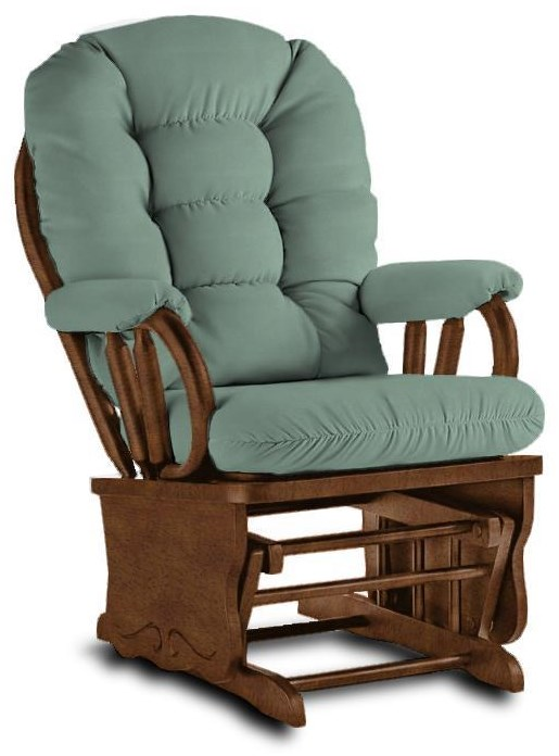 8107 TEAL GLIDER ROCKER by Best Home Furnishings at Walker's Furniture