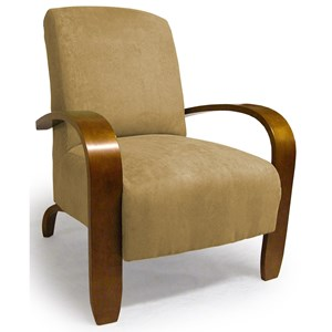 Maravu Exposed Wood Accent Chair