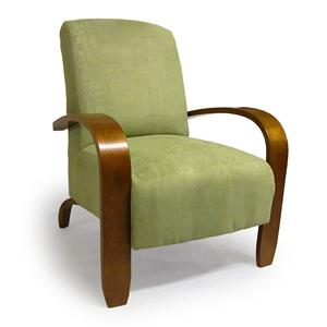 Best Home Furnishings Accent Chairs Maravu Exposed Wood Accent Chair