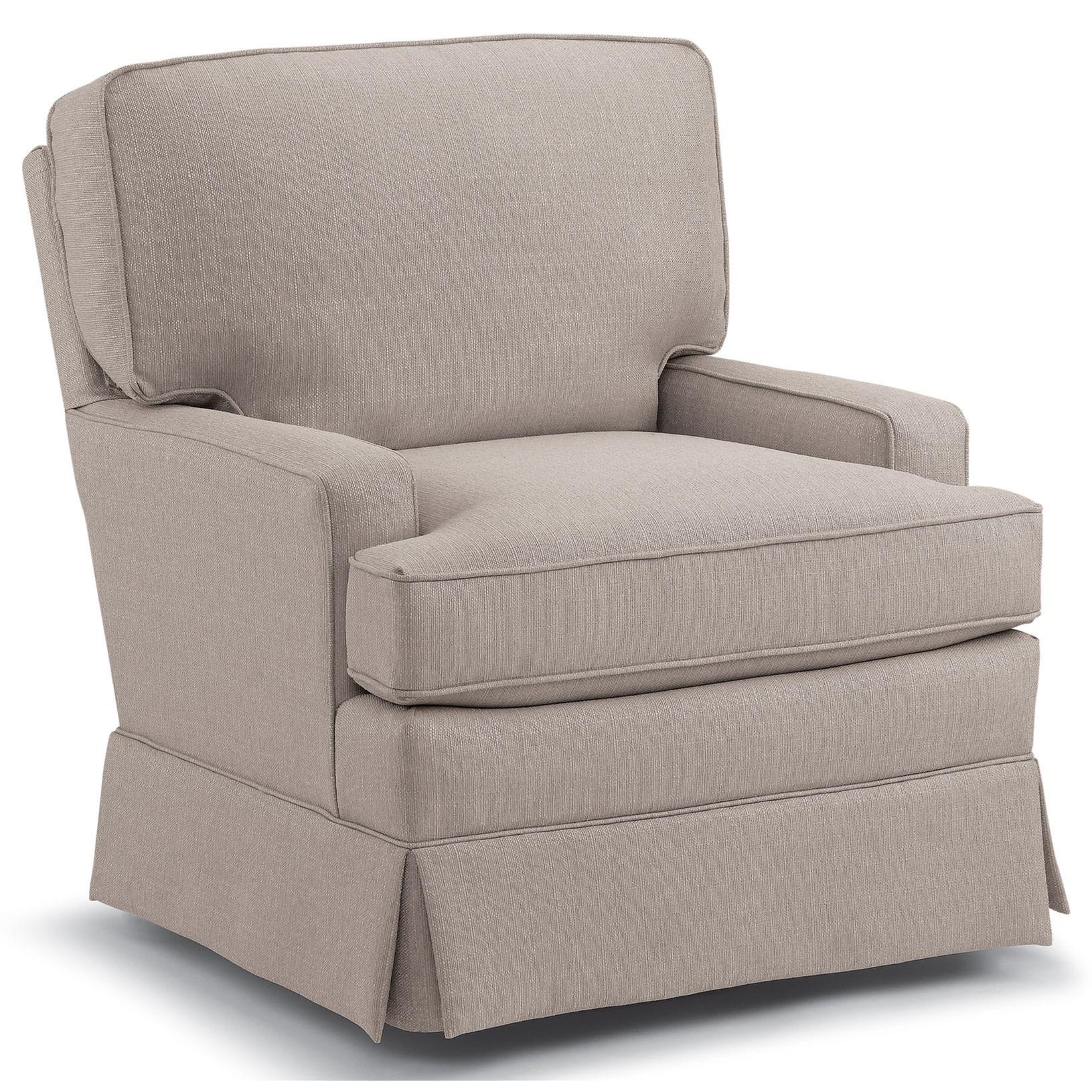 Swivels Rena Swivel Glider by Best Home Furnishings at Walker's Furniture