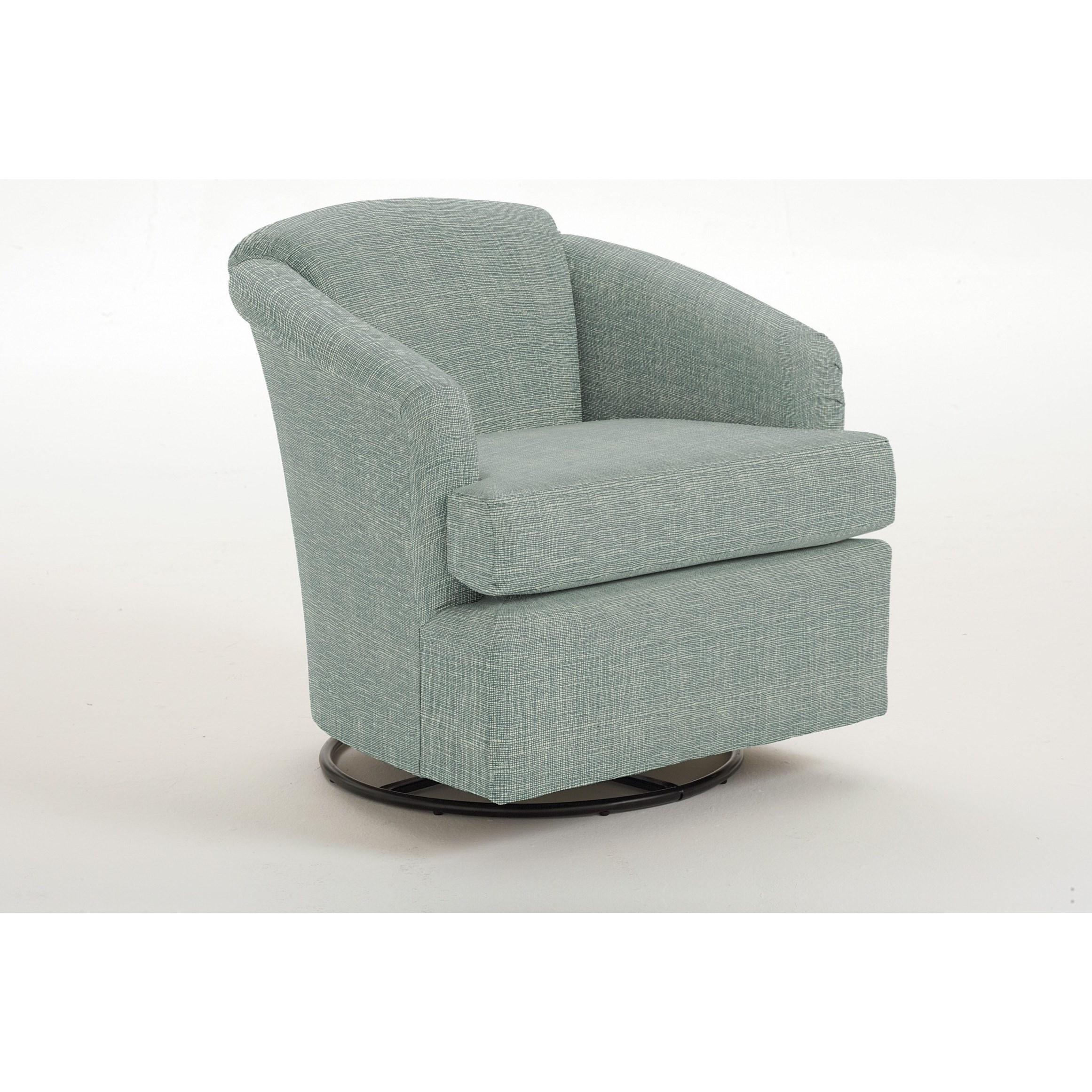 Cass Cass Swivel Glider by Best Home Furnishings at Lucas Furniture & Mattress
