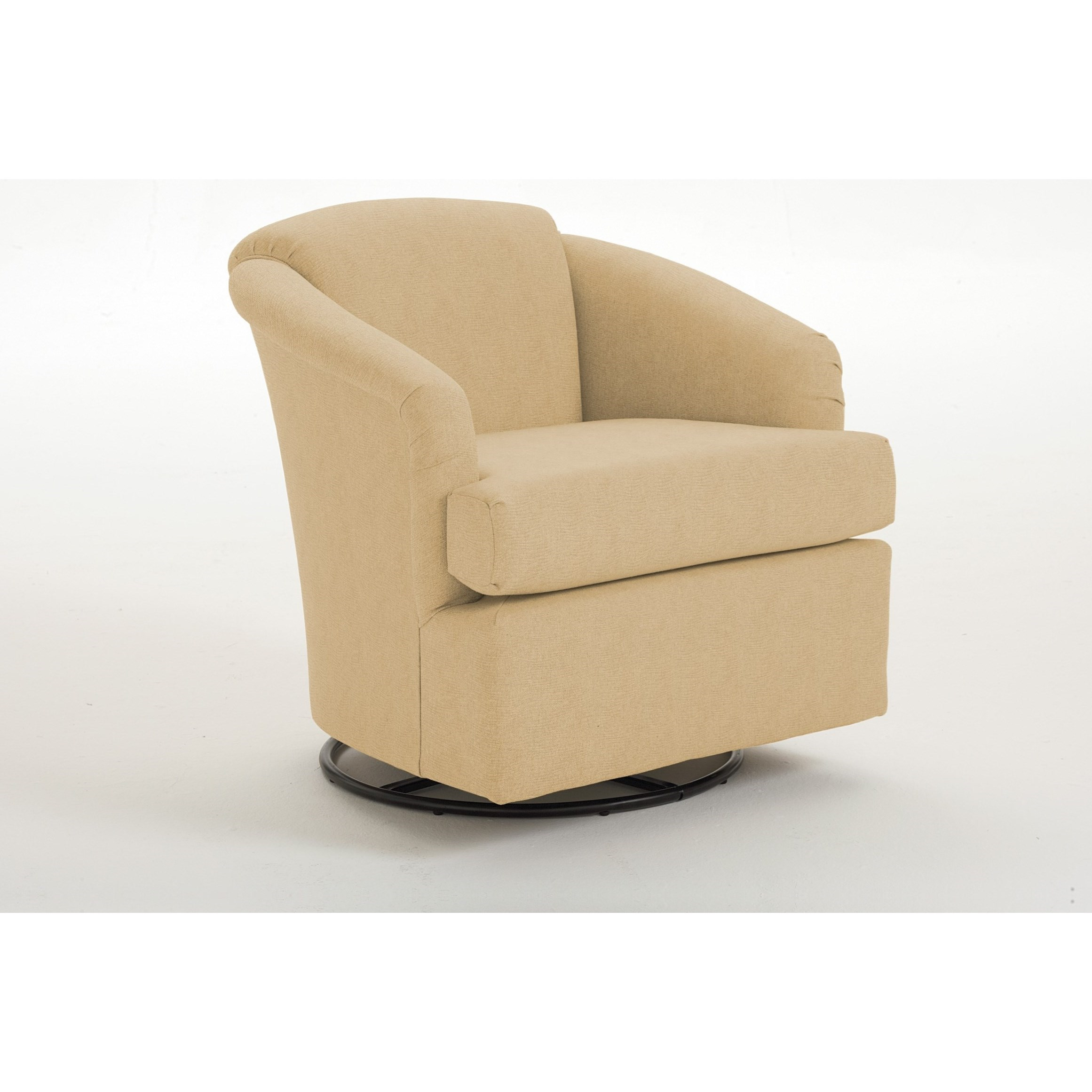 Cass Cass Swivel Chair by Best Home Furnishings at Zak's Home