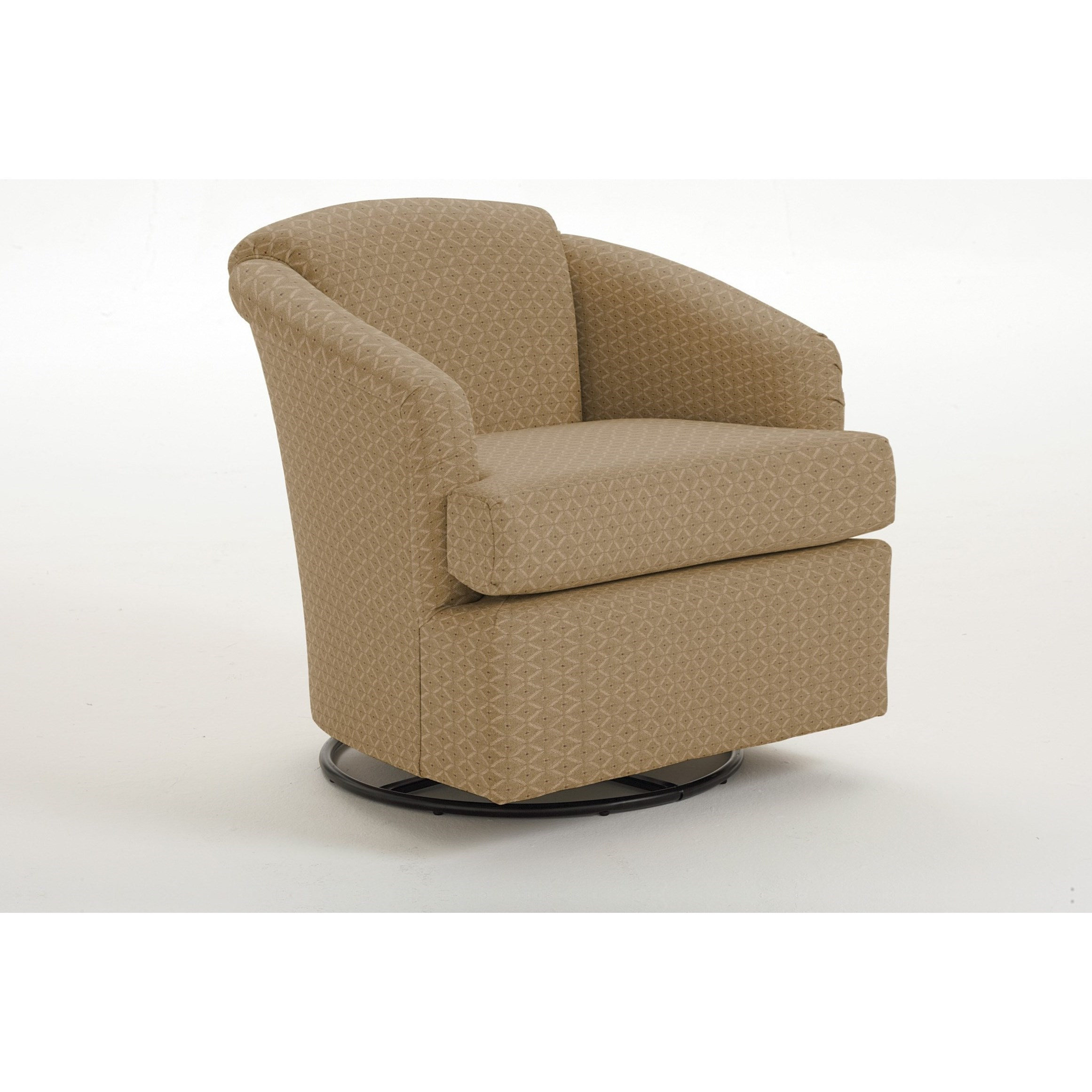 Cass Cass Swivel Chair by Best Home Furnishings at Factory Direct Furniture