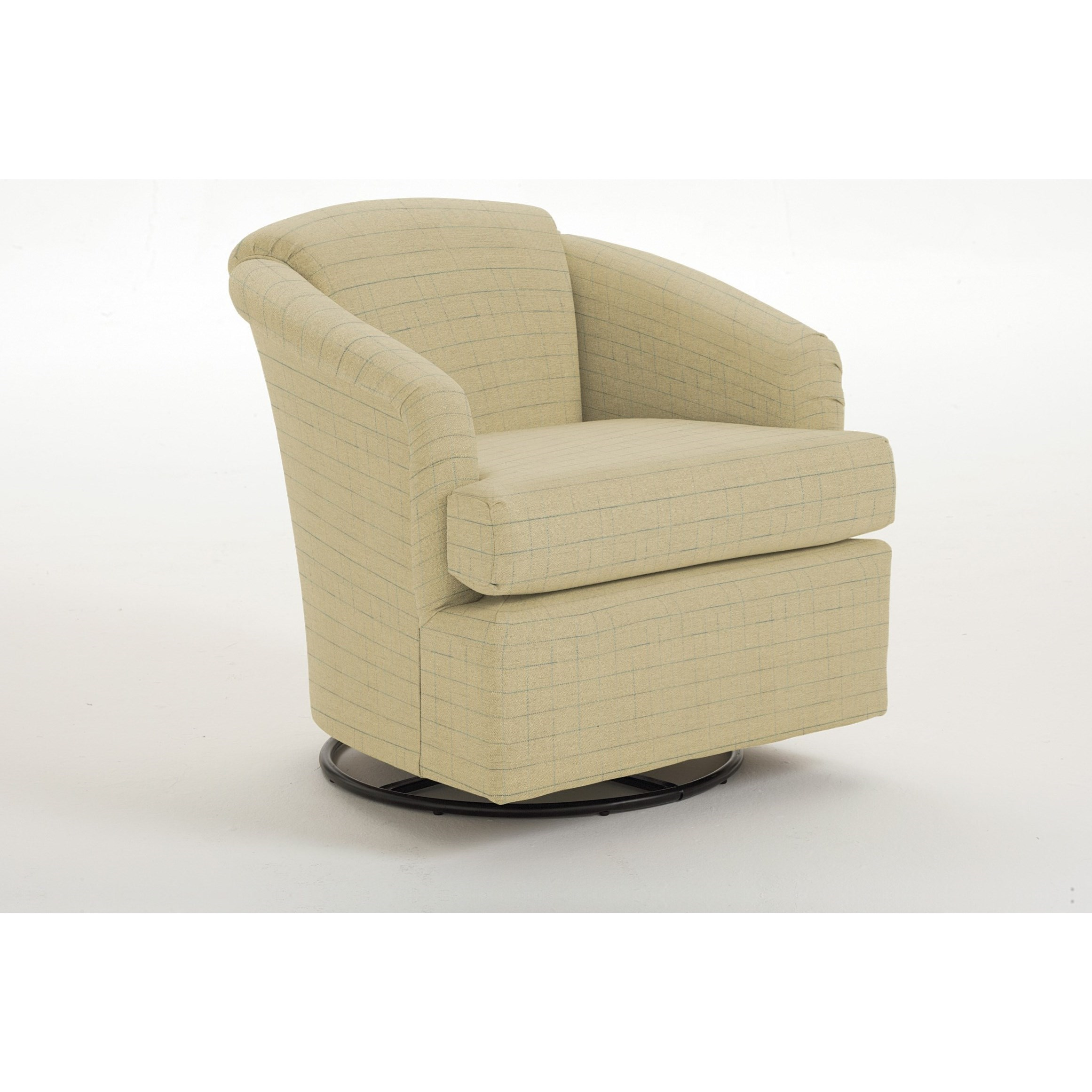 Cass Cass Swivel Chair by Best Home Furnishings at Lucas Furniture & Mattress