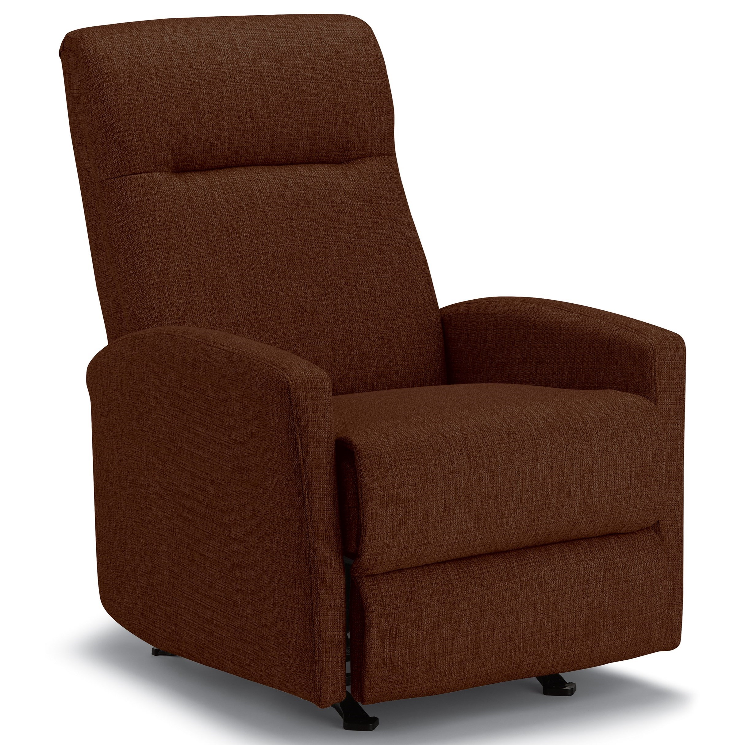 Best Xpress - Arnold Rocker Recliner w/ Inside Handle by Best Home Furnishings at Best Home Furnishings