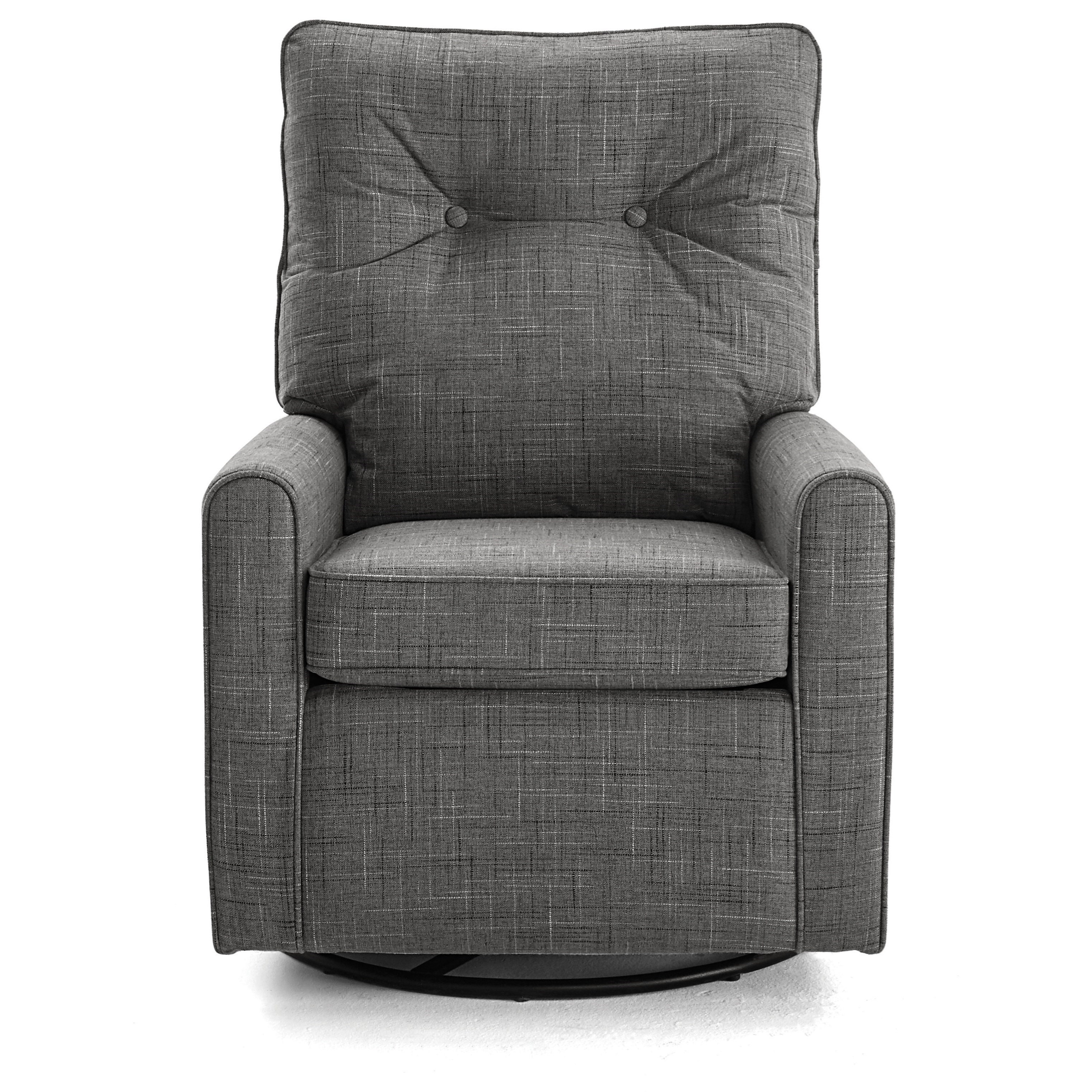 Best Xpress - Phylicia Swivel Glider Chair by Best Home Furnishings at Fisher Home Furnishings