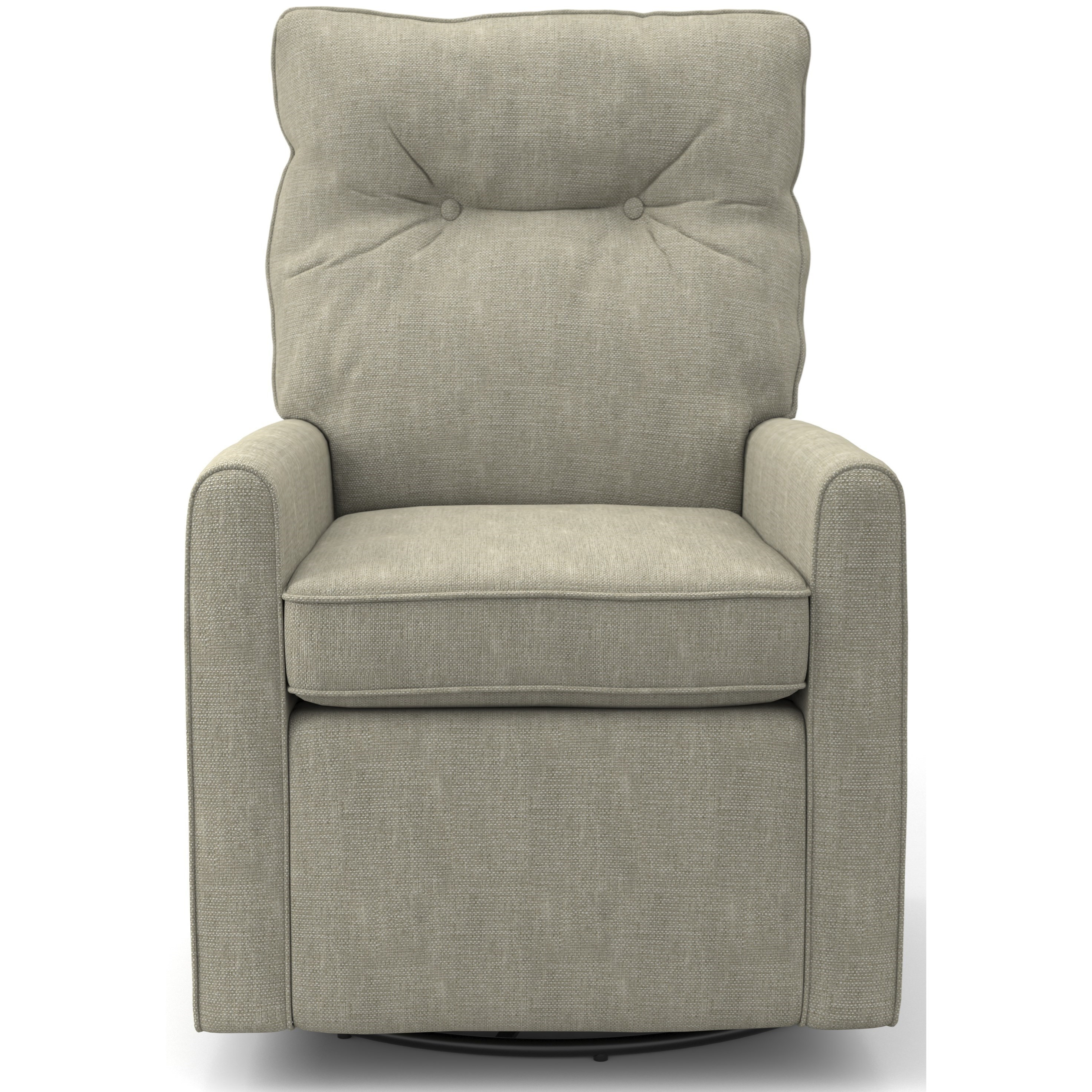 Best Xpress - Phylicia Swivel Glider Chair by Best Home Furnishings at Suburban Furniture