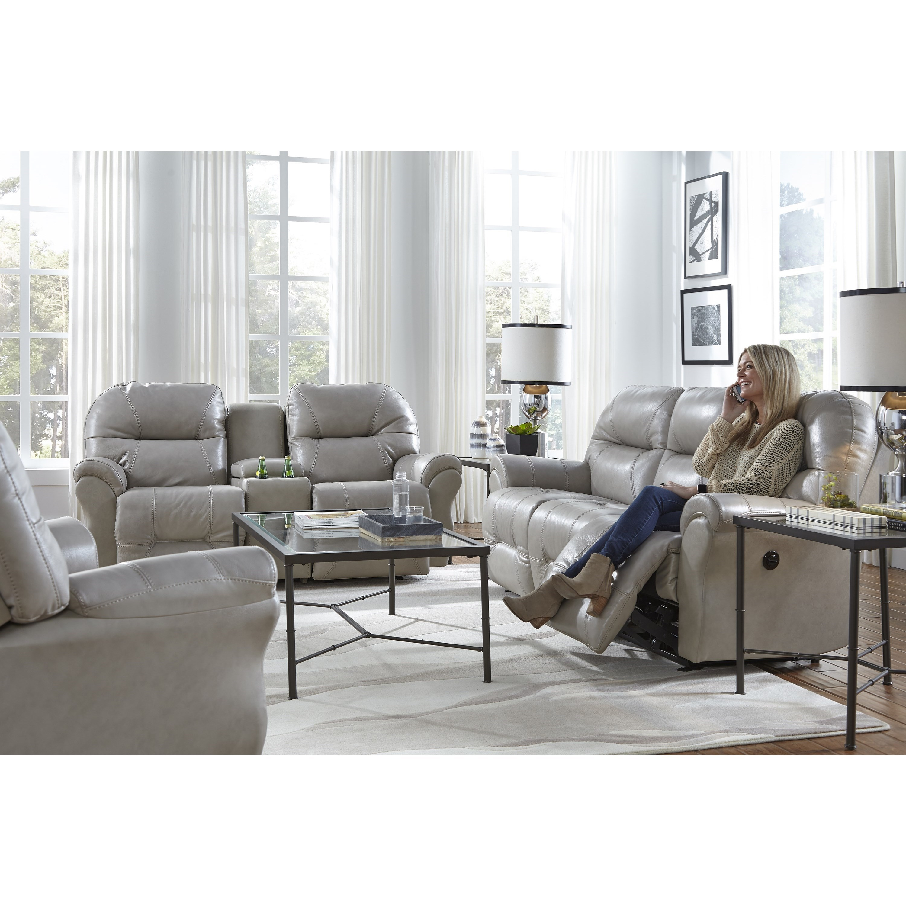 Bodie Reclining Living Room Group by Best Home Furnishings at Saugerties Furniture Mart