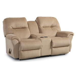 Best Home Furnishings Bodie Space Saver Reclining Loveseat