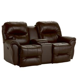 Best Home Furnishings Bodie Power Space Saver Reclining Loveseat