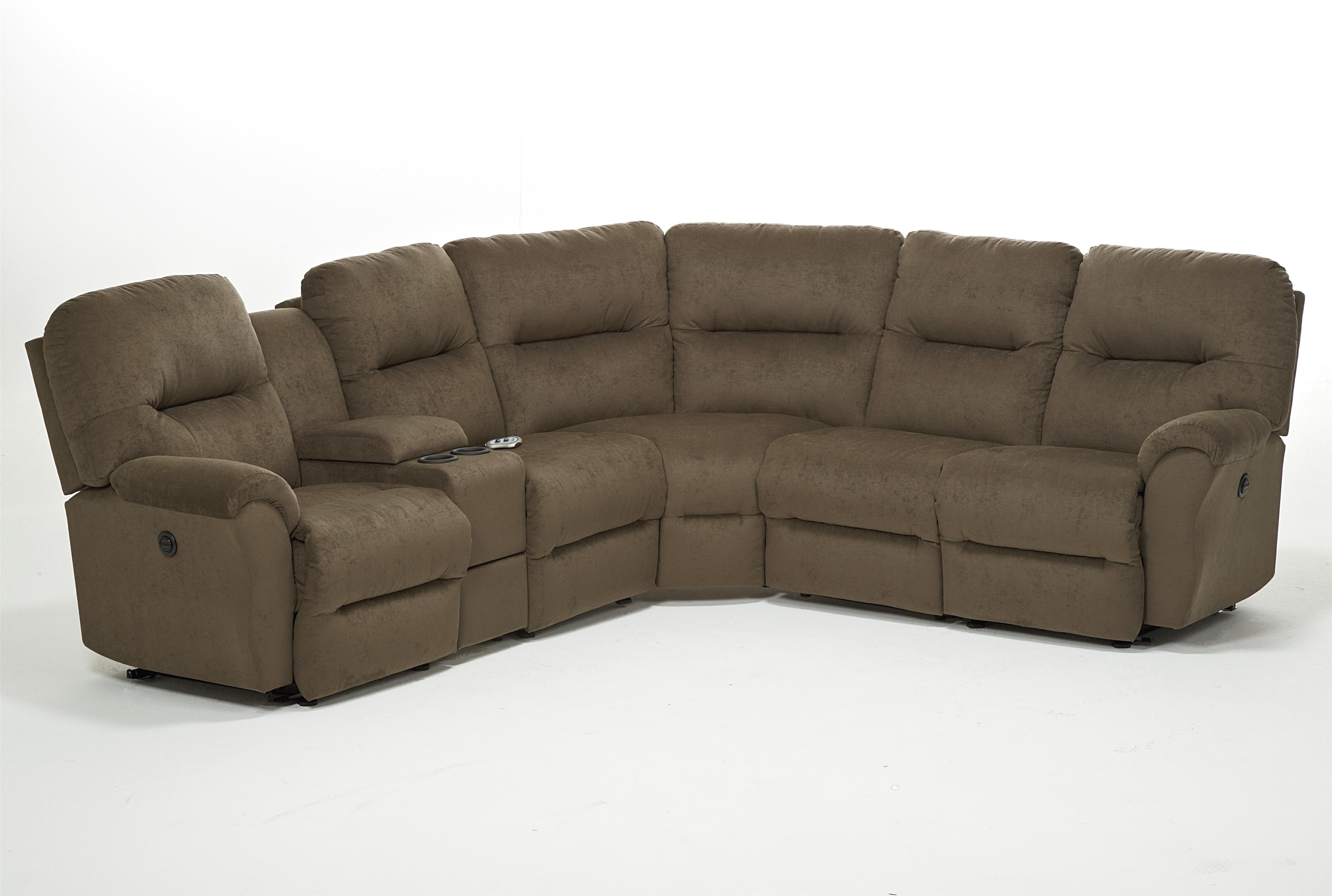 Bodie 6 Pc Power Reclining Sectional Sofa by Best Home Furnishings at Saugerties Furniture Mart