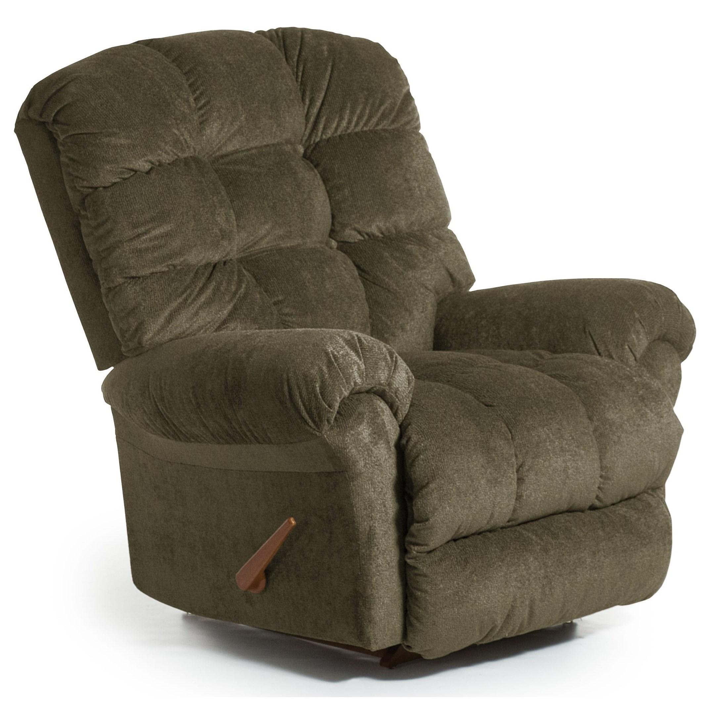 Recliners - BodyRest BodyRest Rocker Recliner by Best Home Furnishings at Lucas Furniture & Mattress