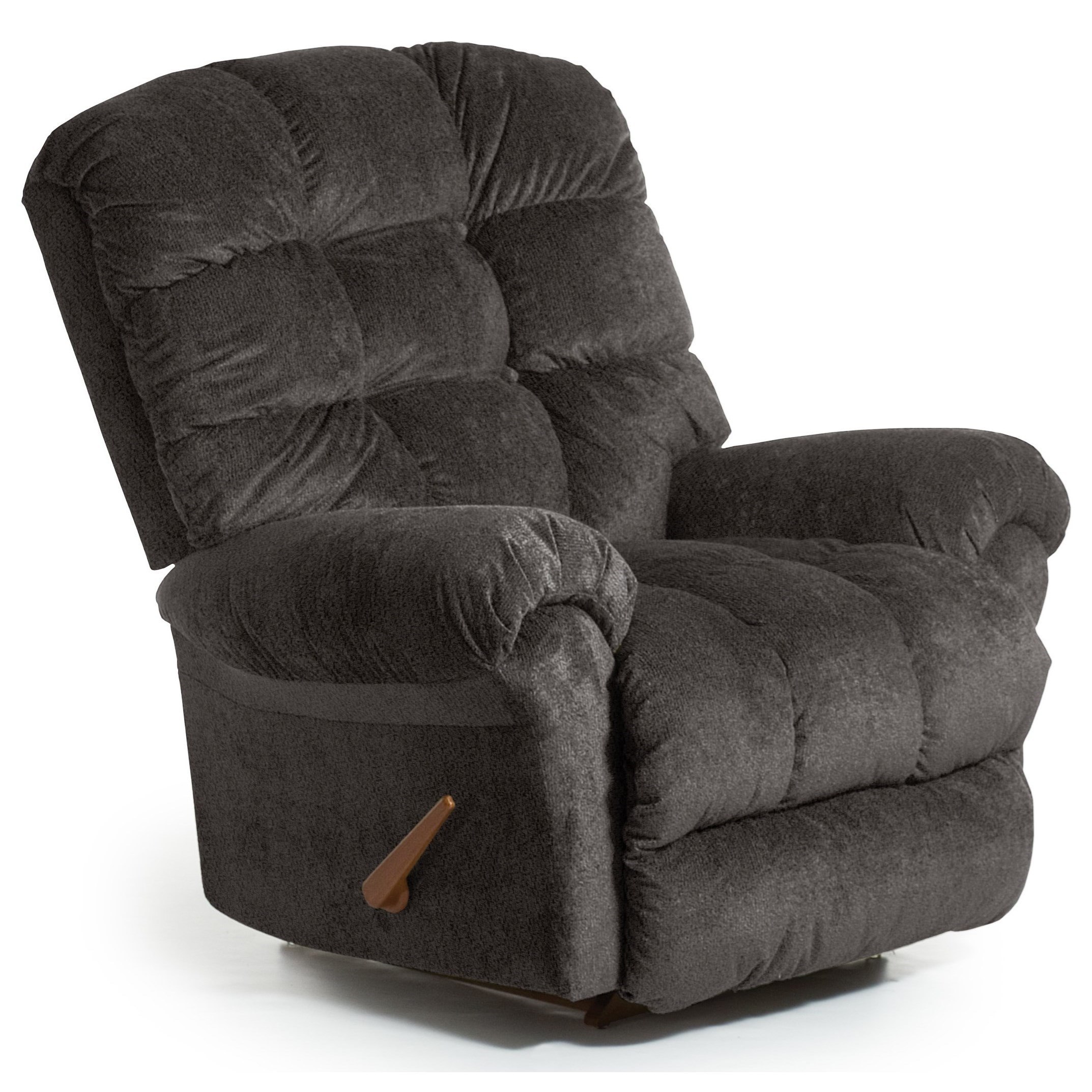 Recliners - BodyRest BodyRest Rocker Recliner by Best Home Furnishings at Steger's Furniture