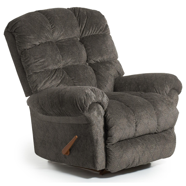 Recliners - BodyRest BodyRest Rocker Recliner by Best Home Furnishings at Arwood's Furniture