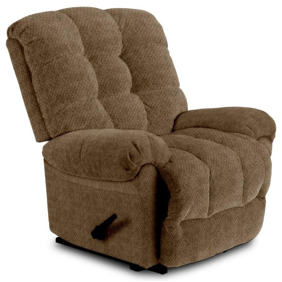 Recliners - BodyRest BodyRest Rocker Recliner by Best Home Furnishings at Bullard Furniture