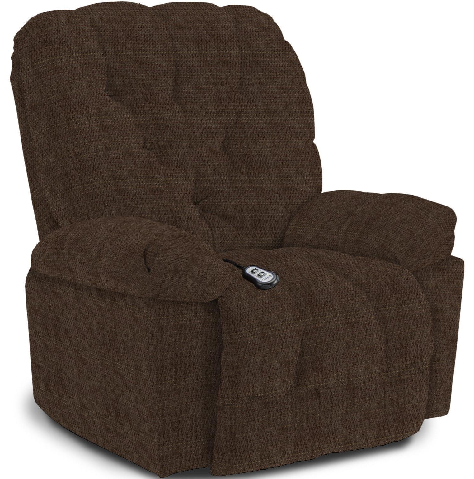 Charger Rocking Recliner by Best Home Furnishings at Crowley Furniture & Mattress