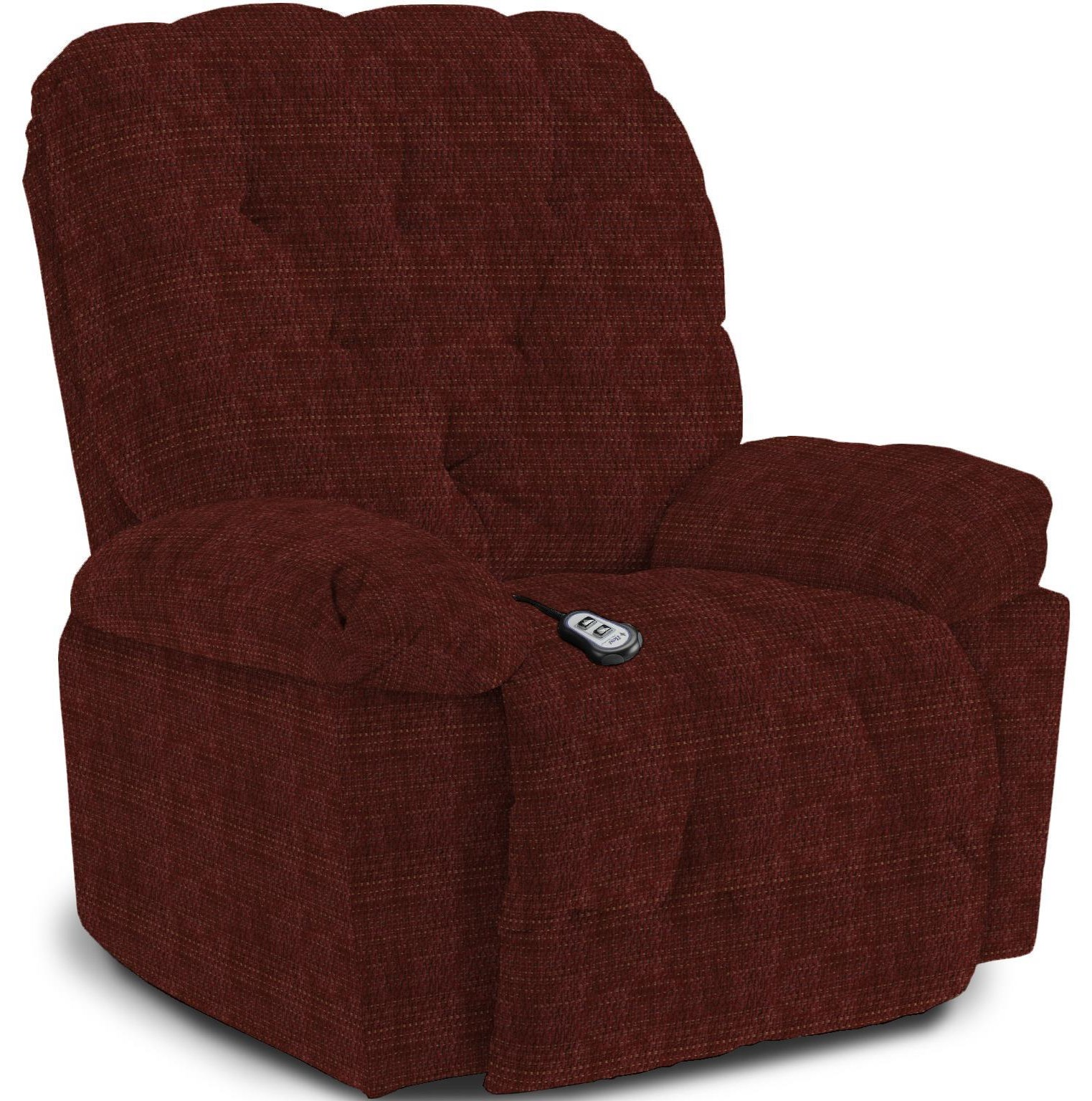 Charger Swivel Gliding Recliner by Best Home Furnishings at Crowley Furniture & Mattress