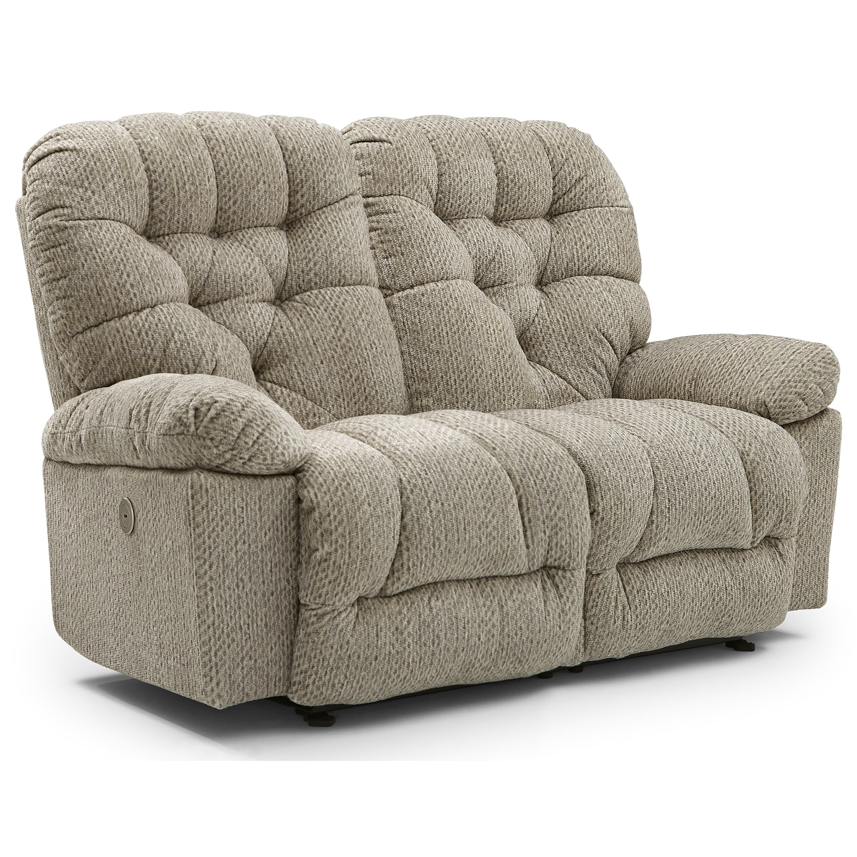 Bolt Power Space Saving Loveseat by Best Home Furnishings at Powell's Furniture and Mattress