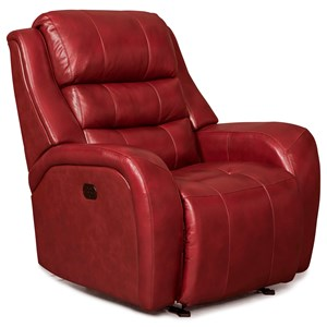 Modern Power Rocking Recliner with Power Tilt Headrest and USB Charging Port