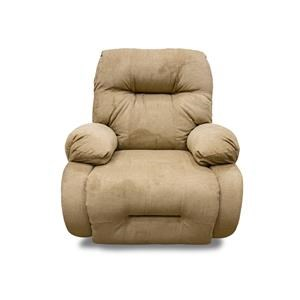 Brinley2 Khaki Rocker Recliner in Opticlean Fabric