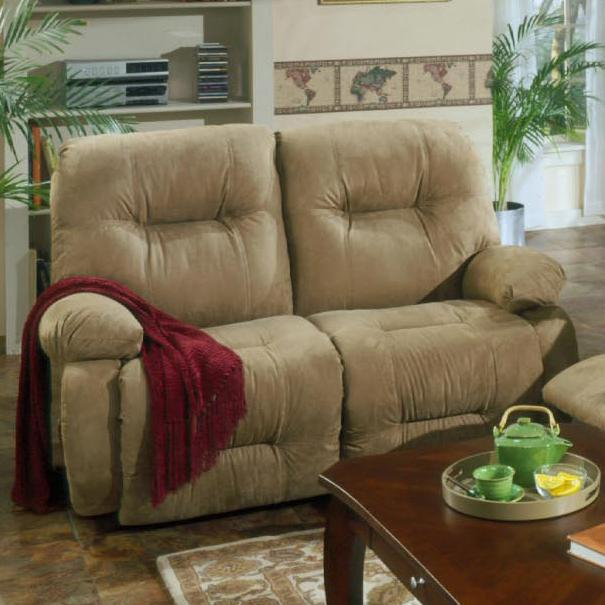 Brinley 2 Reclining Loveseat by Best Home Furnishings at Best Home Furnishings