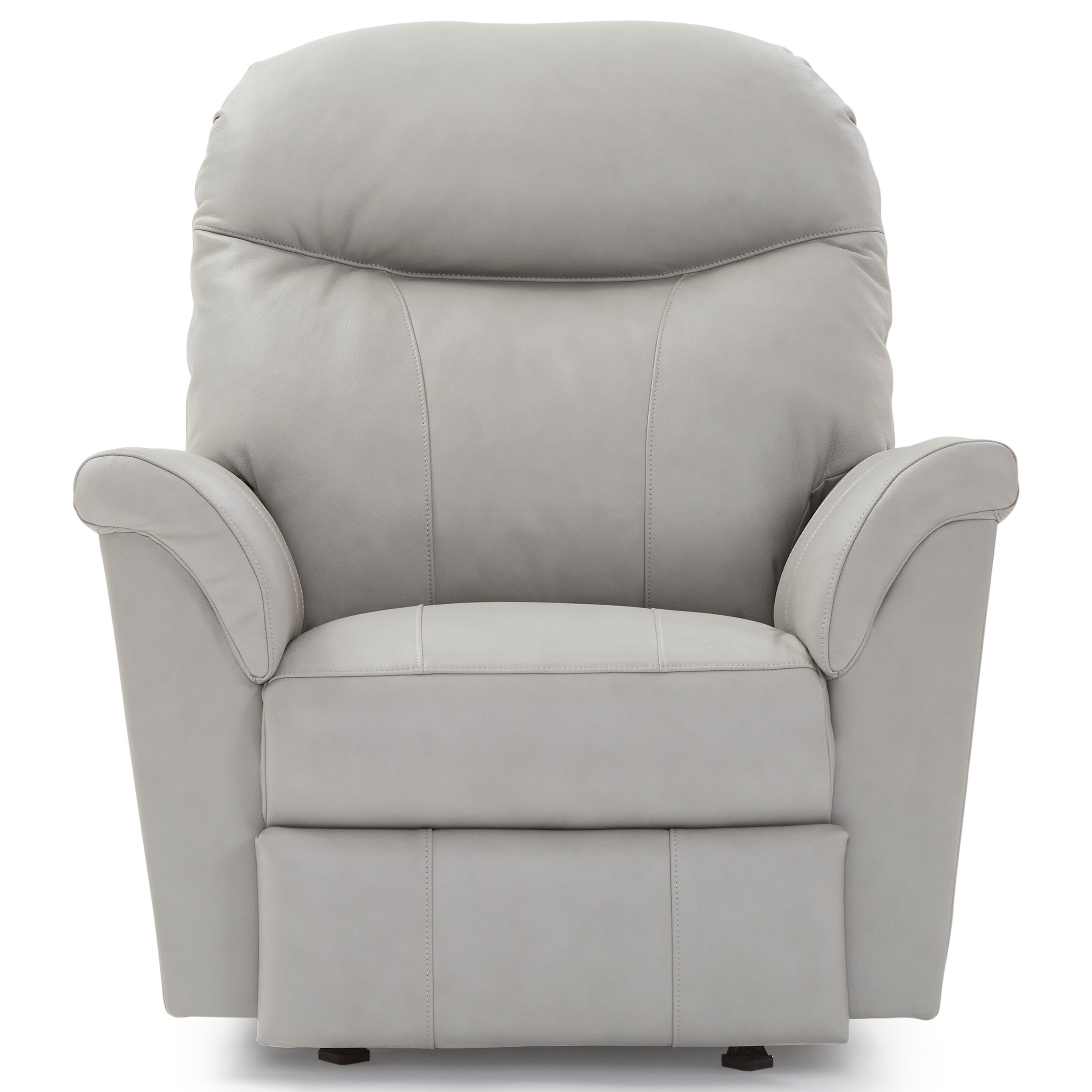 Caitlin Power Headrest Swivel Glider Recliner by Best Home Furnishings at Zak's Home