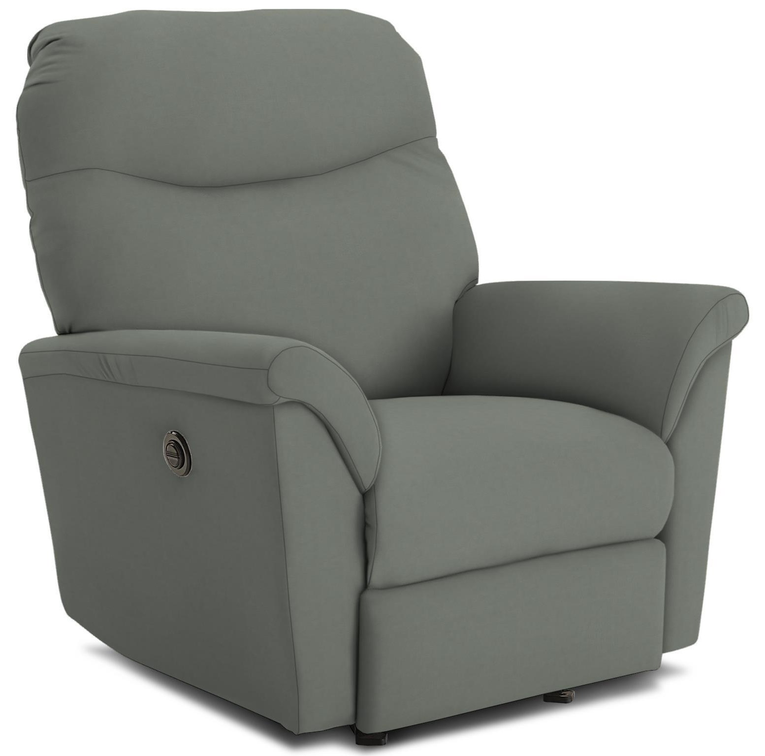 Mabry Power Headrest Rocking Recliner by Best Home Furnishings at Crowley Furniture & Mattress