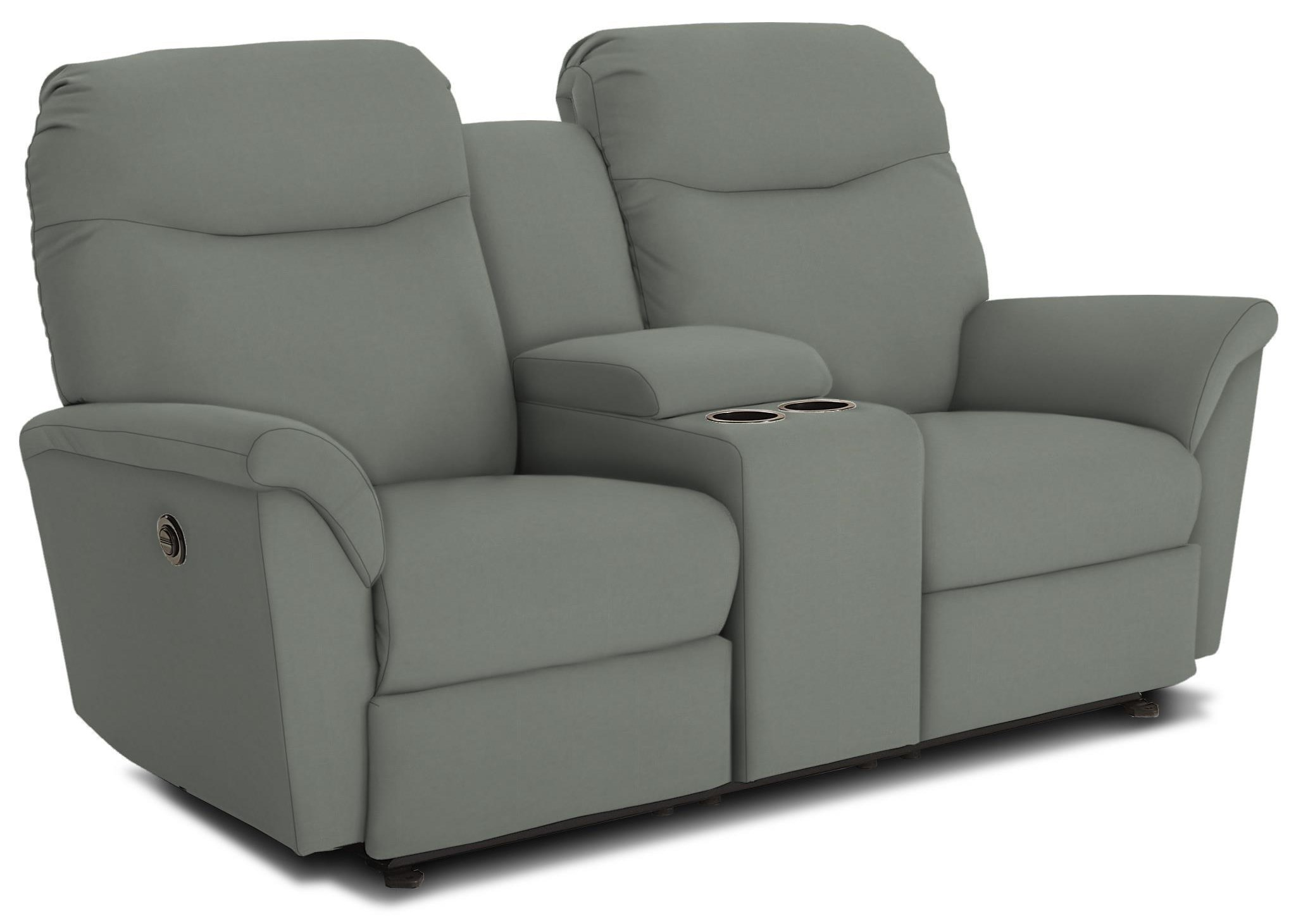 Mabry Power Headrest Reclining Console by Best Home Furnishings at Crowley Furniture & Mattress