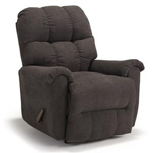 Casual Plush Rocker Recliner