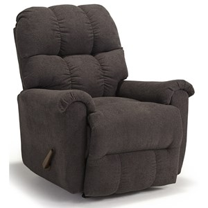 Casual Plush Power Rocker Recliner
