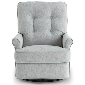 Tufted Power Swivel Glider Recliner
