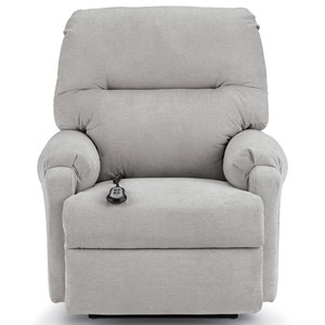 Power Rocker Recliner with Channel Back